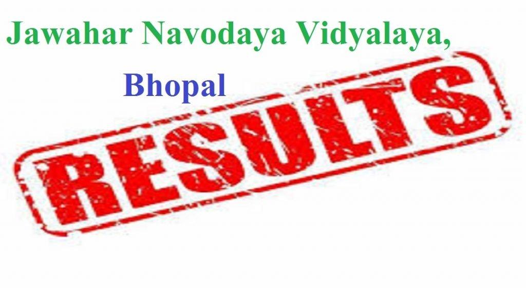 JNVST Result 2020 5th 6th 7th 9th 11th, Bhopal Region MP,